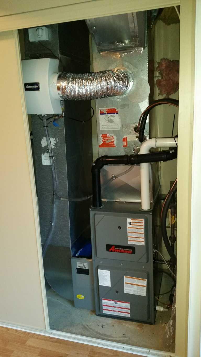 Amana-air-conditioning-unit-indoor-installation