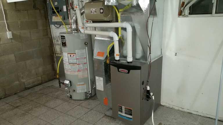 Lennox-AC-unit-new-installation