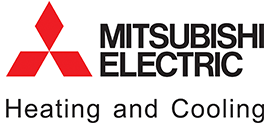 Mistsubishi Electric heating and cooling logo