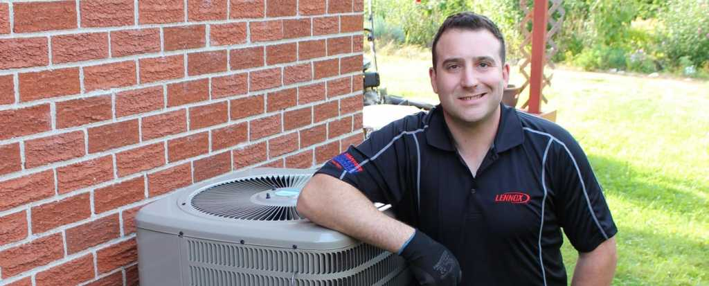 Heating and cooling service