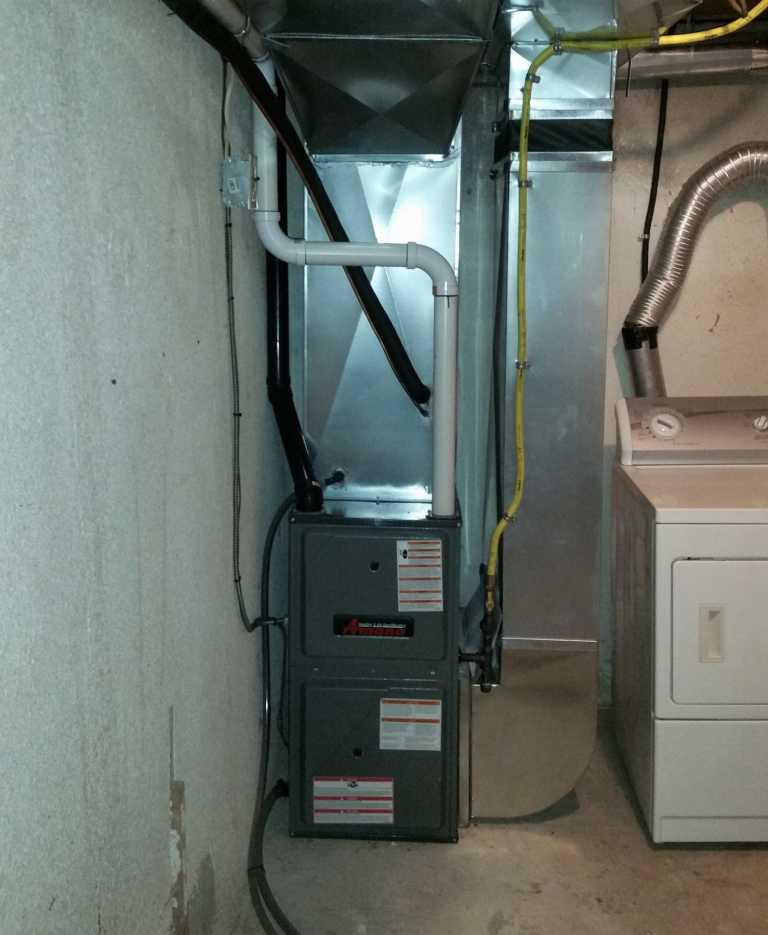 New Amana system installation