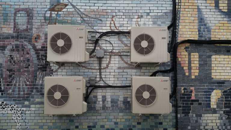 Mitsubishi ductless AC system Toronto