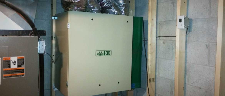 Replaced VanEE Air Exchanger