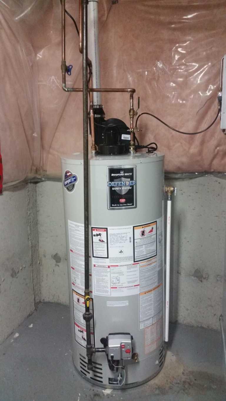 bradford white water heater installation Toronto